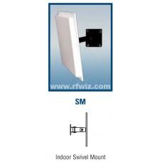 """Comtelco B2697SM  -  UHF 900 -930 MHz 7.5 dBi (5.5 dBd) Gain 20dB F/B 8.5x8.5x.75"""" 65° Panel Base Antenna"""