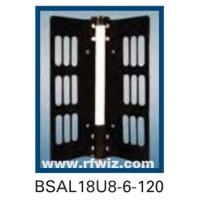 "Comtelco BSAL18U8-6-120  -  UHF 825-896/1850-1990 MHz 6dBd Gain 32dB F/B 120° 25"" Dual-Band Sector Antenna"
