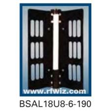 "Comtelco BSAL18U8-6-190  -  UHF 825-896/1850-1990 MHz 6dBd Gain 32dB F/B 190° 25"" Dual-Band Sector Antenna"