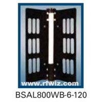 "Comtelco BSAL800WB-6-120  -  UHF 806-960 MHz 6dBd Gain 32dB F/B 120° 25"" Sector Base Antenna"