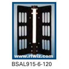 "Comtelco BSAL915-6-120  -  UHF 900-930 MHz 6dBd Gain 32dB F/B 120° 25"" Sector Base Antenna"