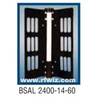 "Comtelco BSAL2400-14-60  -  UHF 2400-2500 MHz 14dBi Gain 32dB F/B 60° 25"" Sector Base Antenna"