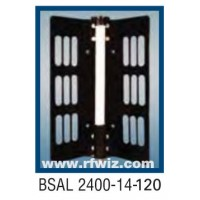 "Comtelco BSAL2400-14-120  -  UHF 2400-2500 MHz 14dBi Gain 32dB F/B 120° 25"" Sector Base Antenna"