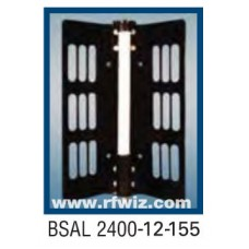 "Comtelco BSAL2400-12-155  -  UHF 2400-2500 MHz 12dBi Gain 32dB F/B 155° 25"" Sector Base Antenna"