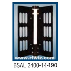 "Comtelco BSAL2400-14-190  -  UHF 2400-2500 MHz 14dBi Gain 32dB F/B 190° 25"" Sector Base Antenna"