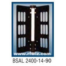 "Comtelco BSAL2400-14-90  -  UHF 2400-2500 MHz 14dBi Gain 32dB F/B 90° 25"" Sector Base Antenna"
