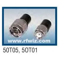 Comtelco 50T01  -  50 Ohm Male Termination TNC Connector