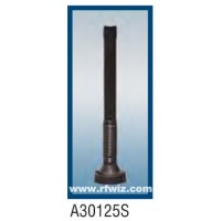 "Comtelco A30125S  -  1200 -1300 MHz 6"" Enclosed Coil Shock Spring 3dBd BLACK finish Mobile Antenna"