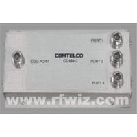 Comtelco CC450-3  -  300-520 MHz 250 Watt 3-Port Wide Band Coupler Stacker to Combine Multiple Antennas