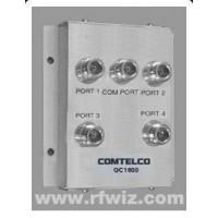 Comtelco QC1800  -  1500-2600 MHz 125 Watt Wide Band 4-Port Coupler Stacker to Combine Multiple Antennas