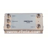 Comtelco QC850  -  800-970 MHz 125 Watt Wide Band 4-Port Coupler Stacker to Combine Multiple Antennas