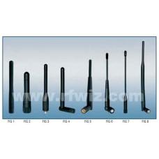 """Comtelco PS2.4-SMA-10  -  2.4-2.5 GHz 10"""" Specialty Data Swivel 3.5dBi SMA Portable Antenna"""