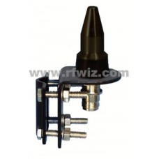 Comtelco TC159242  -  900MHz / 2.4GHz Truck Mirror Mount Low Pro Dual Band Mobile Antenna