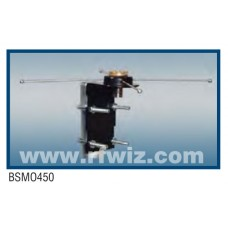 Comtelco BSMO  -  VHF/UHF /SHF Heavy Duty Mobile to Base Adapter w/Radials & N-Female/SO-239 Connector