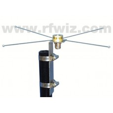 Comtelco BSMOLC-VHF  -  VHF 135-174 MHz Mobile to Base Adapter w/Radials & N-Female/SO-239 Connector
