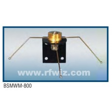 Comtelco BSMWM-800  -  800 -2500 MHz Wall Mount Mobile to Base Adapter w/Radials & N-Female
