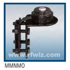 Comtelco MMNMO  -  NMO Mirror Mount HD Bracket w/17' RG58 Coax Cable BLACK Powder Coat Finish