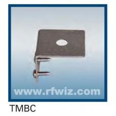 "Comtelco TMBC  -  Stainless Trunk or Lip Edge/Fender Mount 3/8"" Hole BRITE Finish w/Screws"
