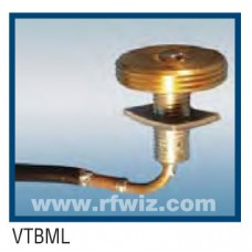 "Comtelco VTBML  -  Very Thick Body Mount with 17' of Cable NO CONNECTOR 1/2"" Thick Plate 3/8 or 3/4 Hole"