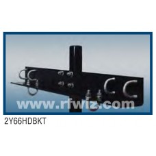 Comtelco 2Y66HDBKT  -  Mast Mount for 2Y66HD Yagi & CC Series Power Divider