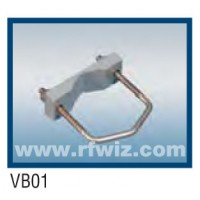 "Comtelco VB01  -  Block Assembly 2 3/4"" V-bolt and V-block"
