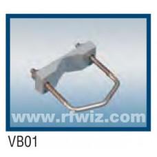 "Comtelco VB01  -  Block Assembly 2 3/4"" V-bolt and V-block"