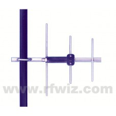 """Comtelco Y2243A-A  -  406-430 MHz UHF 3 Element Yagi 7dBd-15dB F/B 18"""" Standard Duty N Type Beam Antenna"""