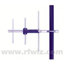 """Comtelco Y2283A-06  -  806-896 MHz UHF 3 Element Yagi 6dBd-15dB F/B 15"""" Standard Duty Beam Antenna"""