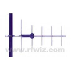 """Comtelco Y2285A-06  -  806-896 MHz UHF 5 Element Yagi 9 dBd-18dB F/B 21"""" Standard Duty N Type Beam Antenna"""