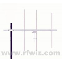 "Comtelco Y3313C-A  -  144-148 MHz VHF 3 Element Yagi 6dBd Gain 18dB F/B 44"" Welded HD Beam Antenna"