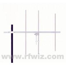 """Comtelco Y3313C-A  -  144-148 MHz VHF 3 Element Yagi 6dBd Gain 18dB F/B 44"""" Welded HD Beam Antenna"""