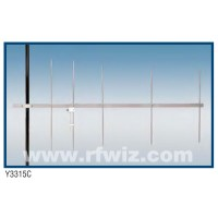 "Comtelco Y3315C-A  -  144-148 MHz VHF 5 Element Yagi 9dBd Gain 18dB F/B 74"" Heavy Duty Beam Antenna"