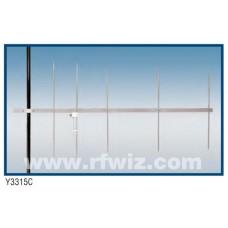 """Comtelco Y3315C-A  -  144-148 MHz VHF 5 Element Yagi 9dBd Gain 18dB F/B 74"""" Heavy Duty Beam Antenna"""