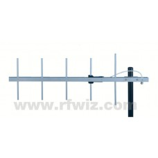 "Comtelco Y3335D-D  -  370-390 MHz UHF 5 Element Yagi 9dBd Gain 18dB F/B 32"" Heavy Duty Beam Antenna"