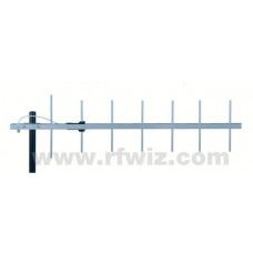 "Comtelco Y3347D-A  -  406-430 MHz UHF 7 Element Yagi 10dBd Gain 20dB F/B 43"" Heavy Duty Beam Antenna"