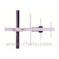 "Comtelco Y3373-WB  -  698-960 MHz 3 Element Yagi 6dBd Gain 15dB F/B 18"" Wide Band Heavy Duty Beam Antenna"