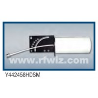 "Comtelco Y442458HDSM  -  1.6-6.0 GHz SHF 10 Element Yagi 6 dBd (8dBi)-15dB F/B 12"" Enclosed Swivel Antenna"