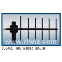 "Comtelco Y6646D-A  -  400-460 MHz UHF 6 Element Yagi 9.5 dBd-20dB F/B 24"" Welded Enclosed Feed Beam Antenna"