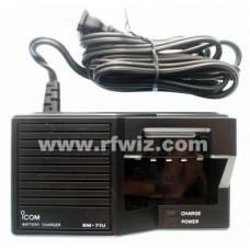 ICOM BM-71U - Desktop Battery Charger for CM-21 CM-23 CM-24 CM-79 CM-80 CM-87 CM-88 IC-U8 - NOS