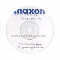 Maxon ACC-810N - TM-2000/8000 Programming Software 12.5 kHz Version 1.38 (N)