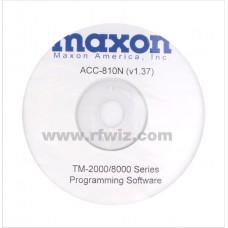 Maxon ACC-810N - TM-2000/8000 Programming Software 12.5 kHz Version 1.38 (N)