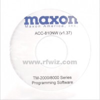 Maxon ACC-810 - TM-2000/8000 Programming Software 12.5/25 kHz Version 1.38 (W/N)
