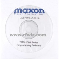 Maxon ACC-180 - Programming Software 12.5/25 kHz Version 1.38 (W/N)