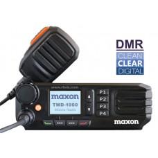 Maxon TMD-1124  -  VHF 1024 Ch 50 Watt DMR Tier II TDMA/Analog Mobile Radio (136-174 MHz) w/display