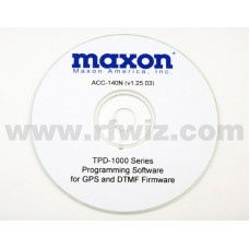Maxon ACC-140N - TPD-1000 Programming Software 12.5 kHz Version 1.25 (N)