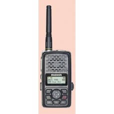 Maxon TPD-8124BK  -  VHF 512 Ch 3 Watt DMR Digital/Analog Portable (136-174 MHz) BLACK
