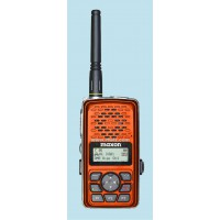 Maxon TPD-8124OR  -  VHF 512 Ch 3 Watt DMR Digital/Analog Portable (136-174 MHz) ORANGE
