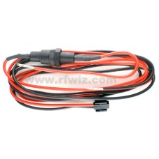 Midland 70-0042 - Titan Series Hi Power DC Cord With In-line 30 Amp Fuse and Holder  - NOS