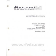 Midland 70-1486 - 70-1080A Programmer Operator's Manual Version 20.0 NOS