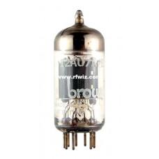 12AU7A  -  Browning Laboratories Twin Triode Amp ECC82 9-Pin Vintage Miniature Vacuum Tube NOS